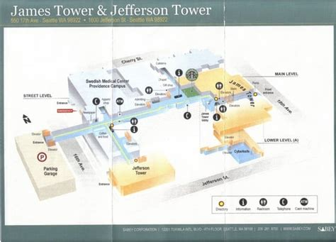 seattle hospitals map swedish center cherry hill cus