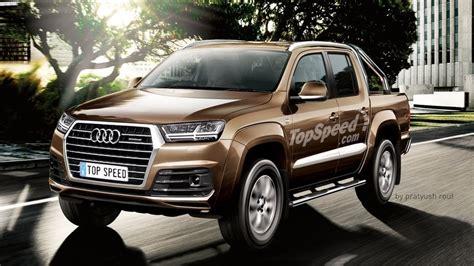 2016 audi pick up truck render top speed renders audi q7 based pickup truck