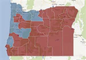 political map of oregon no electoral college but nw races math to victory