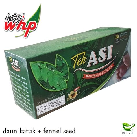 Teh Asi Breast Milk Booster Tea Herbal Lancar Asi Plus Daun Katuk 3 teh asi intaj whp breastmilk booster tea asibayi