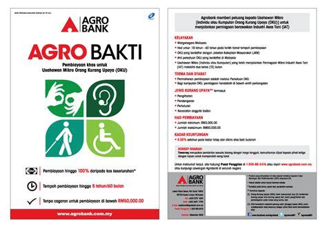 Kelayakan Guarantee Letter Agro Bakti Financing Programme Agrobank