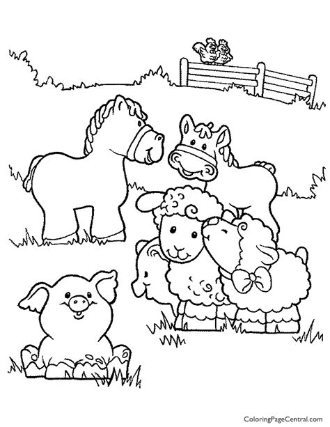michigan wildlife a coloring field guide books coloring pages of farm animals farm animals coloring