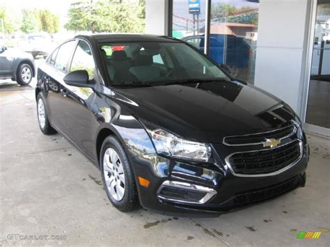 and black ls 2015 black granite metallic chevrolet cruze ls 98247924