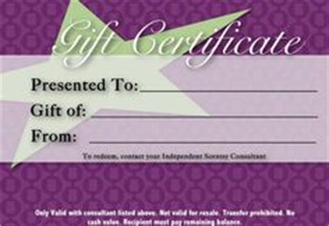 scentsy gift certificate template 1000 images about scentsy gift certificates on