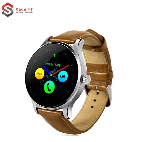 clocks for android phone original k88h bluetooth smart watches mtk2502 rate monitor wearable health whatch clock