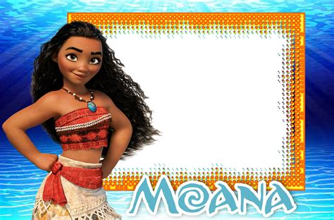 Moana Birthday Invitation Template Free Printable Invitation Templates Moana Birthday Invitation Template