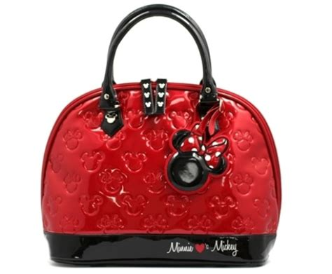 Mickey Handbag mickey and minnie patent leather handbag mickey fix