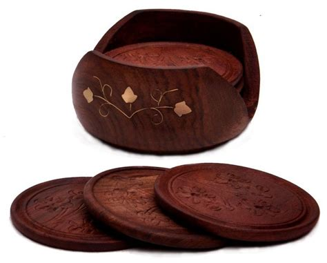 drink coasters 5 best wood coaster set potect your table no matter what