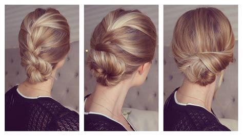 Hairstyles Using Hair Pins by 3 Easy And Fast Updos Only Using Bobby Pins