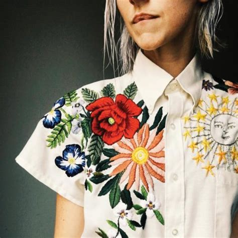 embroidery fashion fashion s common thread for fall 2017 is embroidery