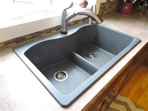 cast iron sink vs stainless steel installation of mount sink vs mount sink in