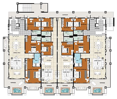 benvenutiallangolo luxury apartments plan images