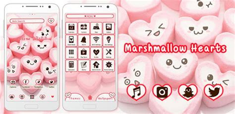 marshmallow themes free download download marshmallow hearts home theme for pc