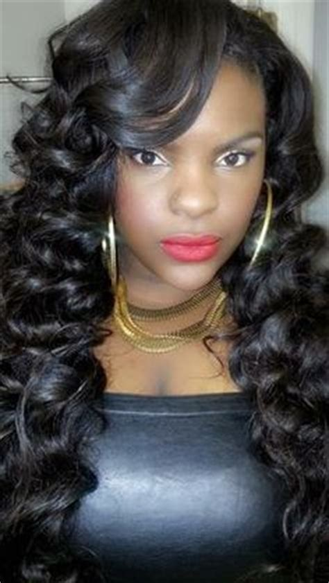 heatless hairstyles for weave flexi rods on weave google search flexi rods