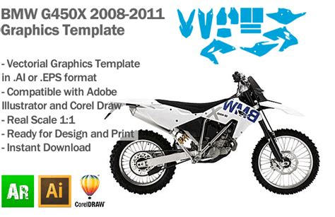 motorcycle graphics templates dirt bike graphic templates pictures inspiration