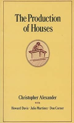 christopher alexander pattern language summary the production of houses book by christopher alexander