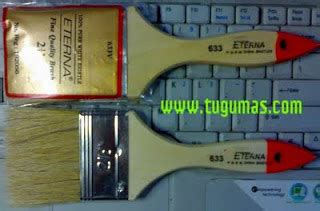 Kuas Cet Cat Eterna 1 2 kuas cat paintbrush harga harga bahan bangunan