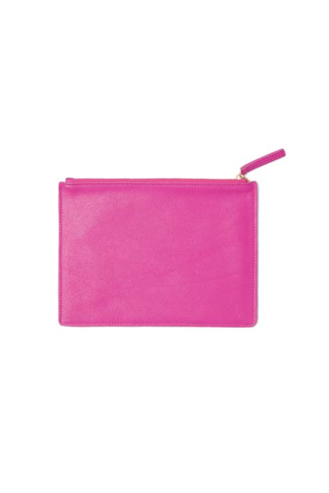 the pink clutch a small space with a big statement russell hazel small pink clutch from new orleans by