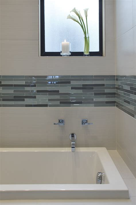 Modern Bathroom Tub Tile Tile Trends Styles