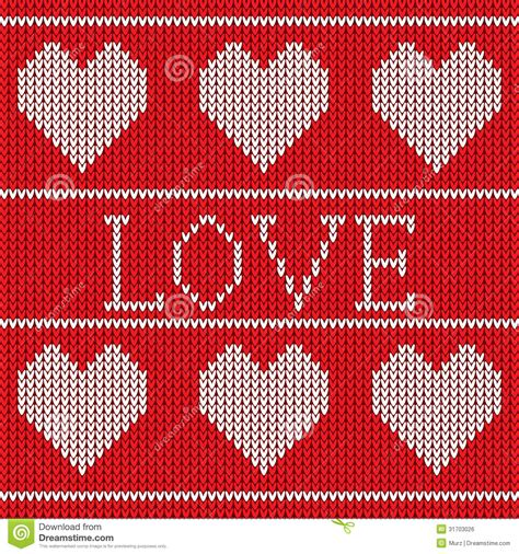 seamless knitted pattern vector red knitted sweater pattern stock vector image 31703026