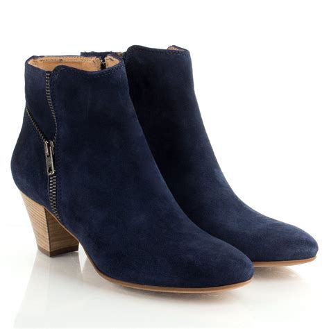womens navy blue boots daniel navy quelly women s zip ankle boot