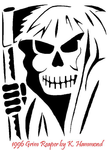 printable grim reaper pumpkin stencils free flame patterns stencils download free clip art free