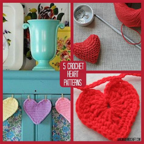 Handmade Pattern - 5 crochet patterns to