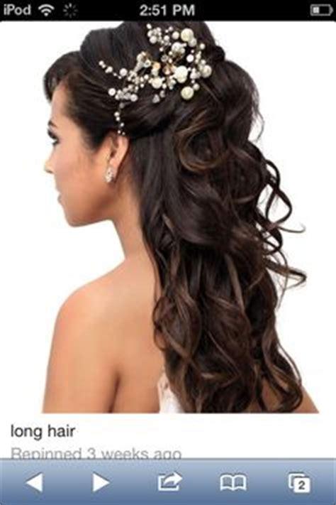 half up,half down wedding hairstyles on pinterest   half