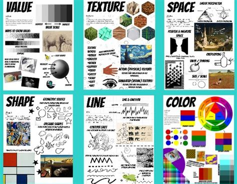 design elements pdf elements of art classroom posters printable posters and