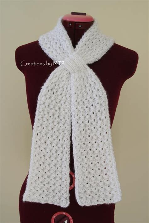 mock cable knit scarf pattern mock cable scarf by creations by mtp craftsy