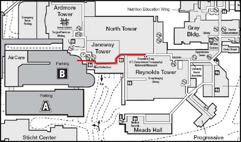 Boulevard Central Tower 1 Floor Plan by Ct Services Wake Forest Baptist North Carolina