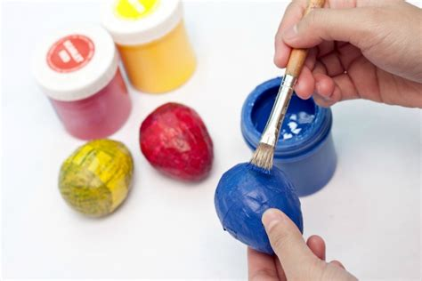 What Do U Need To Make Paper Mache - diy easter paper mache eggs the evolution