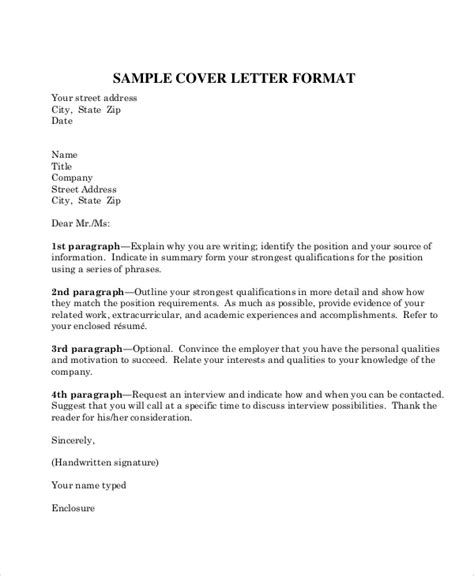 sle business letter format 8 exles in word pdf