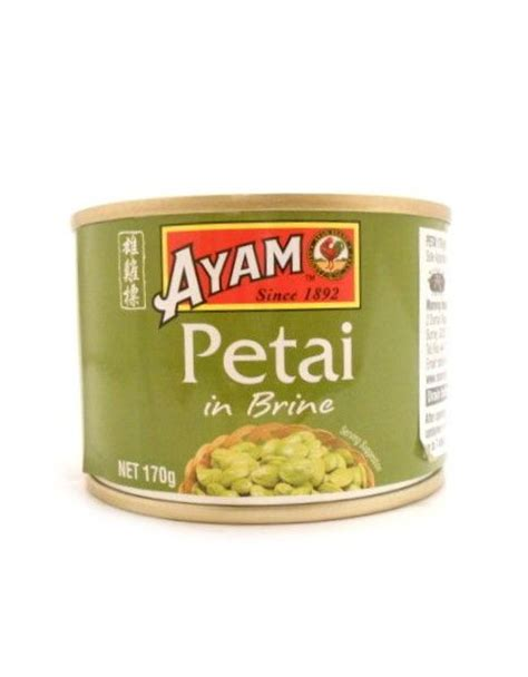 Ayam Brand Crab In Brine 170g petai beans stink bean bitter bean buy at the