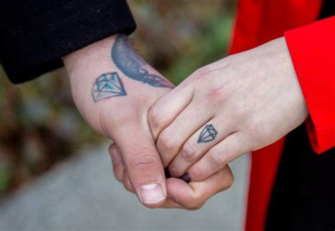 wedding ring tattoos permanent like 8 wedding ring ideas that show your commitment for