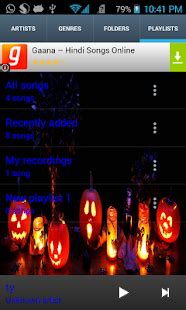 themes for google play music halloween theme music player android apps on google play