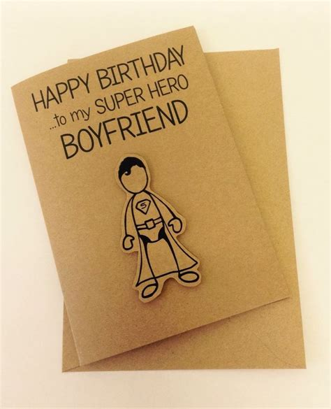 Handmade Card Ideas For Boyfriend - the 25 best ideas about boyfriend birthday cards on