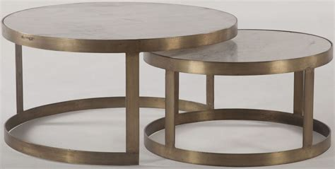 gold nesting coffee table leonardo white and antique gold nesting coffee tables set