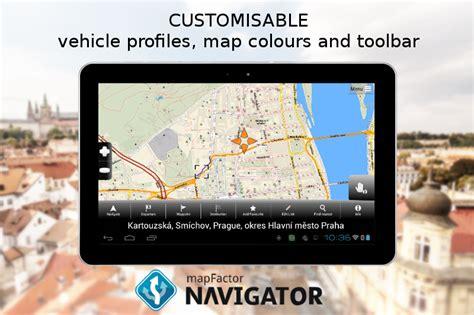 gps navigator apk mapfactor gps navigation maps apk android cats maps navigation apps