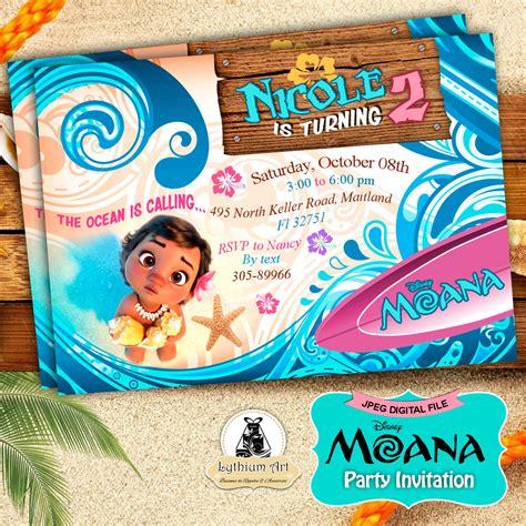 printable party decorations etsy moana invitation moana party invitation moana birthday