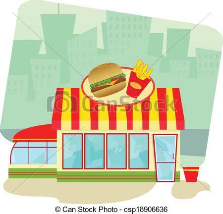 Italian Style Dining Room Furniture vectors of fast food restaurant cartoon illustration of