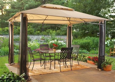 Backyard Canopy by Best Gazebo Canopy Gazebo For Small Backyard Make A