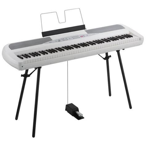 korg piano digital sp280 white korg sp 280 digital stage piano white at gear4music