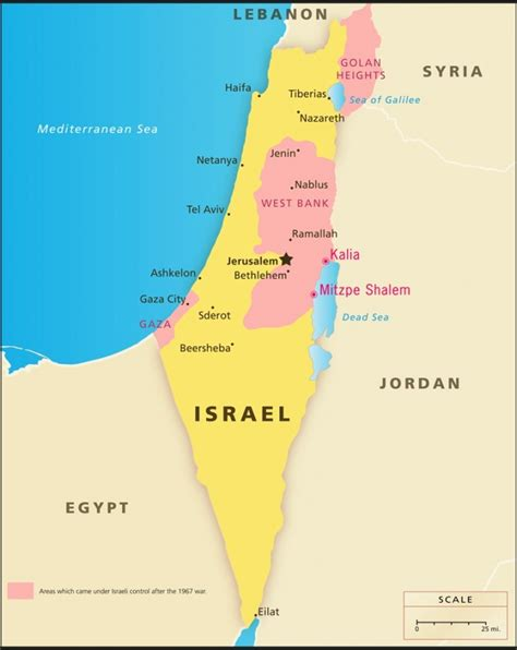 The Gaza And West Bank Should Be Independent From