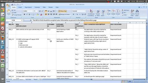 Ieee Std 829 Test Plan Scenario Template Youtube Test Scenario Template