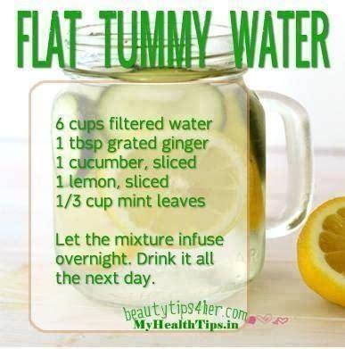 Flat Belly Detox Water Results by Make Ur Own Flat Tummy Water Trusper