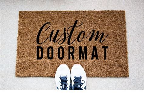 Doormats Personalized - 25 best ideas about doormats on front