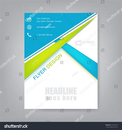 professional flyer template professional business flyer template brochure or