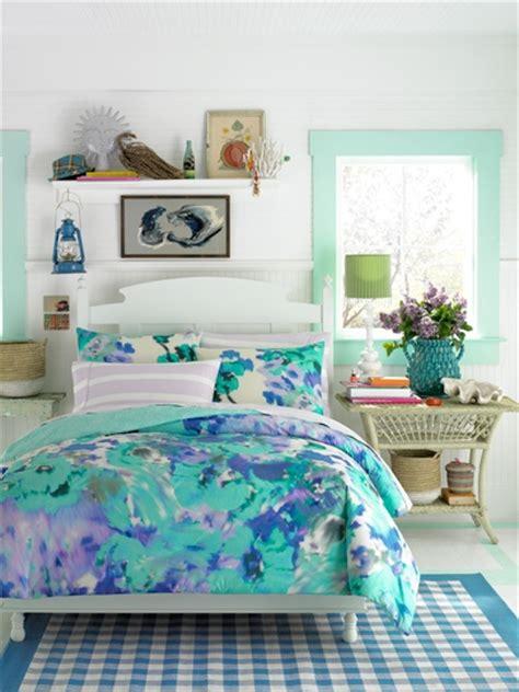 Teen Vogue Bedding Watercolor Garden Bedding Set Vogue Bed Sets