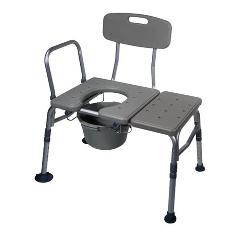medical transfer bench drive medical transfer bench with plastic seat and commode